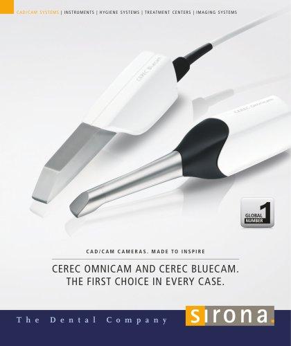 CEREC Omnicam and CEREC Bluecam