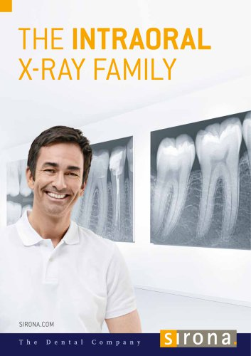 The intraoral X-ray family