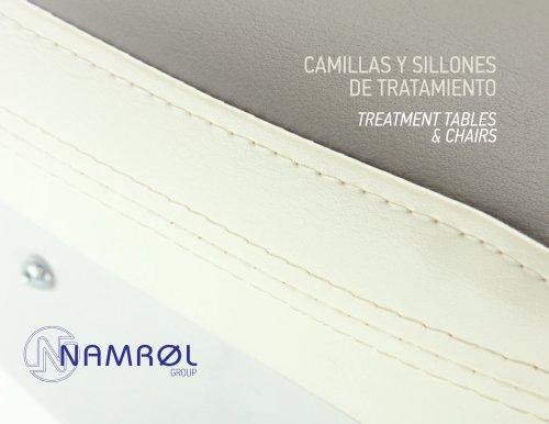 CAMILLAS Y SILLONES DE TRATAMIENTO TREATMENT TABLES & CHAIRS
