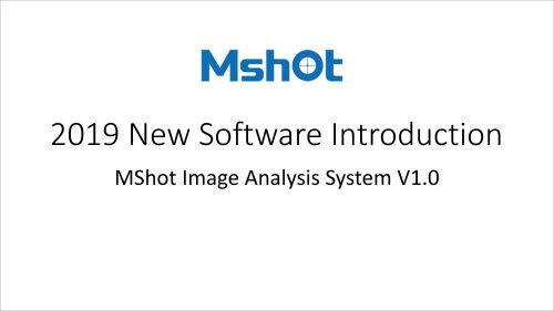 Microscope imaging anlysis software