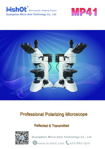 Professional Polarizing microscope MP41