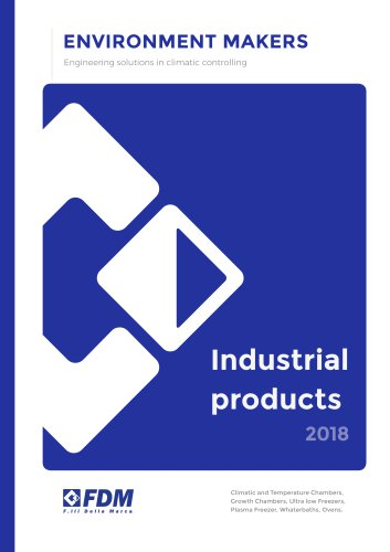Industrial products 2018