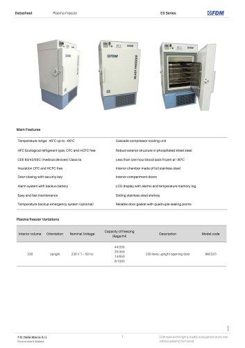 Plasma freezers