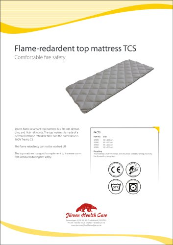 Flame Retardant Top Mattress TCS