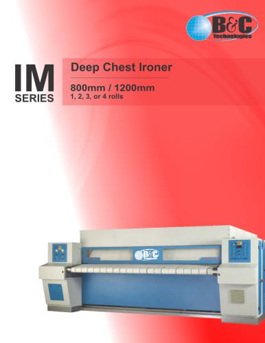 IM Series Industrial Ironer