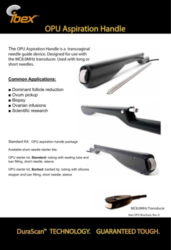 OPU Aspiration Handle